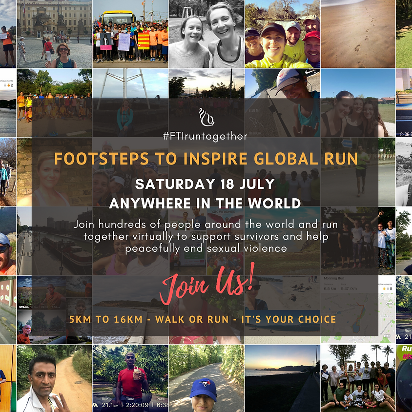 Footsteps To Inspire Global Run
