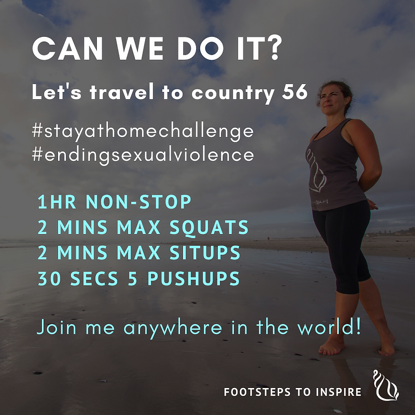 Footsteps To Inspire Challenge > Virtually in Country 56
