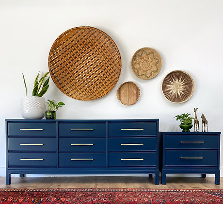 |BUY NOW| Dixie Long Dresser and Nightstand set