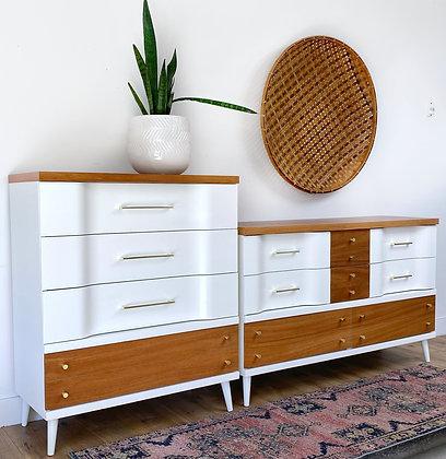  BUY NOW  Mid Century Dresser set
