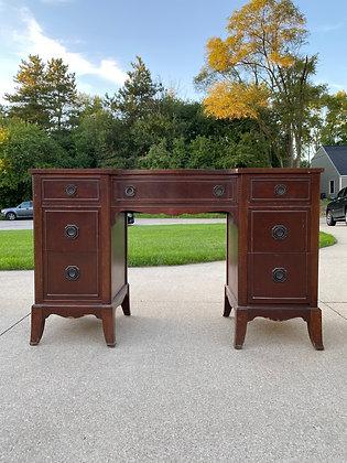 """ CUSTOMIZE  Antique Desk - 50"""" long x 19"""" deep x 30-1/2"""" tall"""