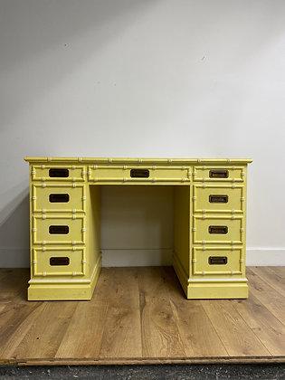 "|CUSTOMIZE| Sligh Furniture vintage desk -46"" long x 23"" deep x 29-1/2"" tall"
