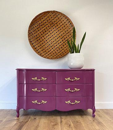 "|BUY NOW|  Pretty Berry Dresser - 52"" long x 19"" deep x 32"""