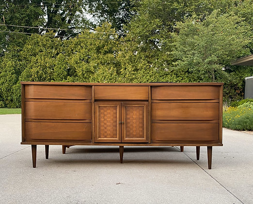 "|CUSTOMIZE| Mid Century Buffet - 70"" long x 18"" deep x 30"" tall"