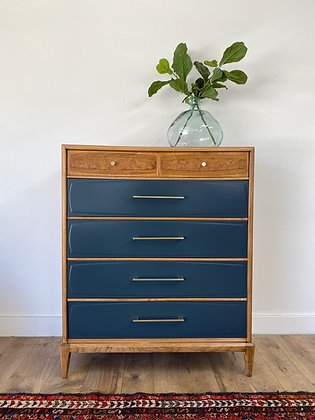 """ BUY NOW  Solid wood MCM Chest - 38"""" long x 19"""" deep x  46"""" tall"""