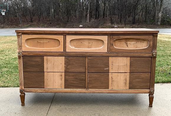 "{CUSTOMIZE} Hollywood Regency Style Dresser -56"" L x 18"" D x 32"" T"