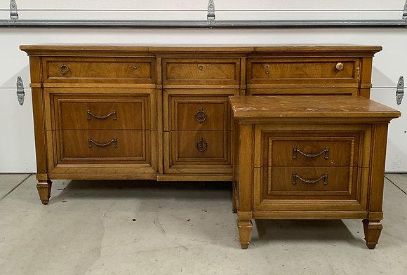 """{CUSTOMIZE} Thomasville Dresser set -68"""" L x 20"""" D x 32-1/2"""" T"""