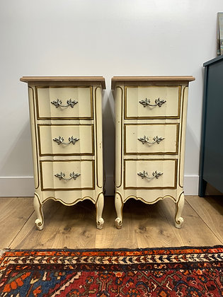 "{CUSTOMIZE} French Provincial Nightstands - 15"" L x 18"" D x 29-1/2"" T"