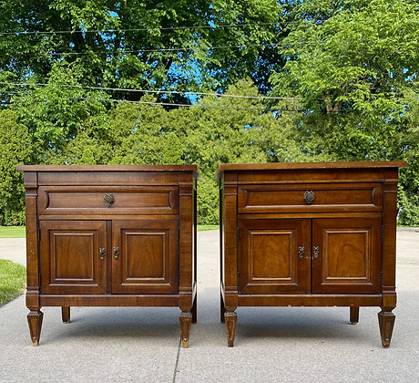 "|CUSTOMIZE|  Regency Style Nightstands - 26"" L x 17"" D x 26-3/4"" T"