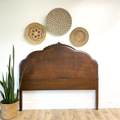 "|BUY NOW| Vintage full headboard - 57"" wide x 50"" tall"