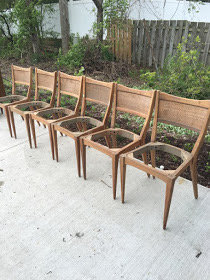 {CUSTOMIZE} Set of 6 Modern style chairs