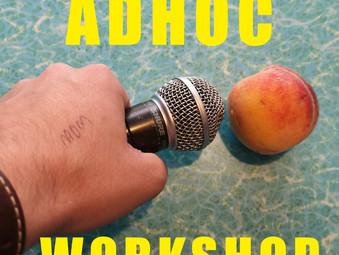AD HOC WORKSHOP   Did you hear something?