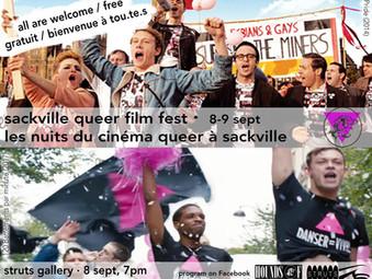 Screening   Sackville Queer Film Fest   Festival du cinéma queer à Sackville