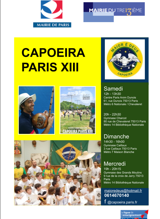 Cours capoeira 2020