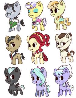 pony set 4