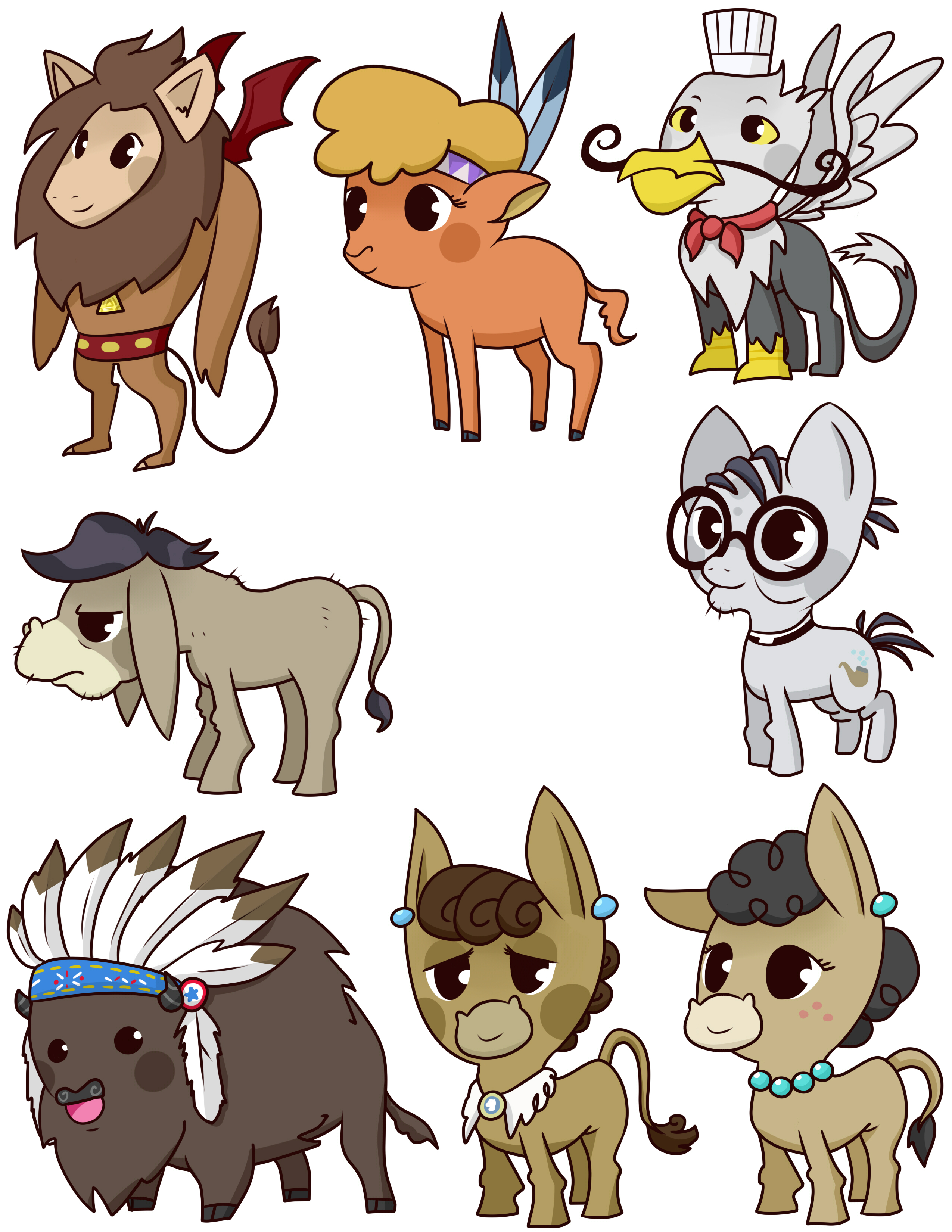 more pony badges
