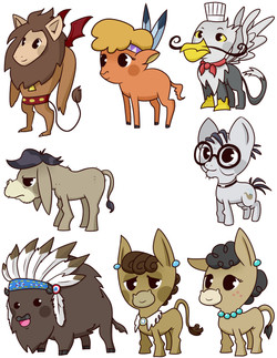 more pony badges