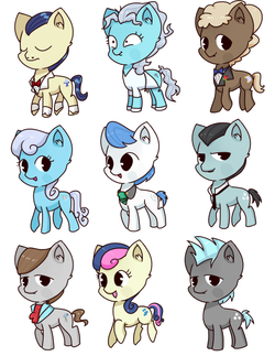 pony set 11