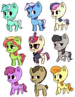 pony set 16
