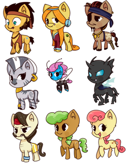 pony set 7