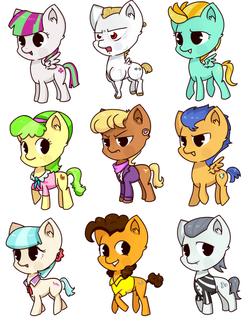 pony set 5