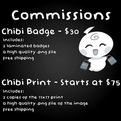 Chibi Print Comission