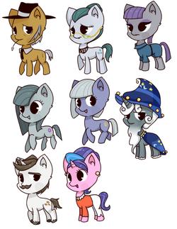 pony set 3