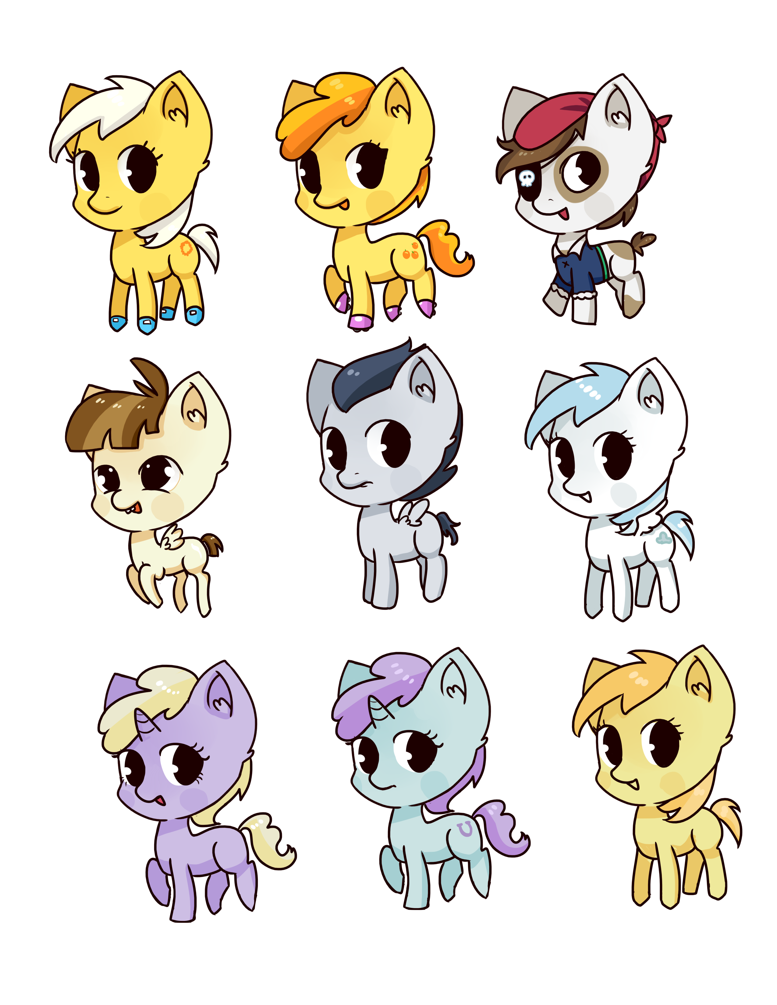 pony filly set 2