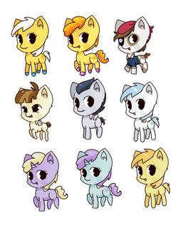 pony filly set 2