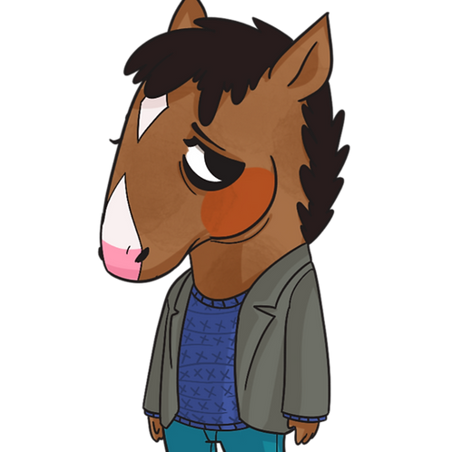 the horse from horsing around