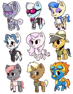 canterlot ponies