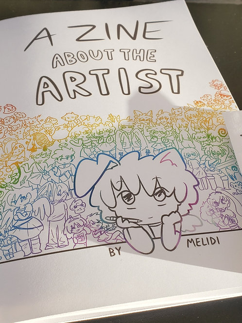 Zine Set: About the Artist + That's Why
