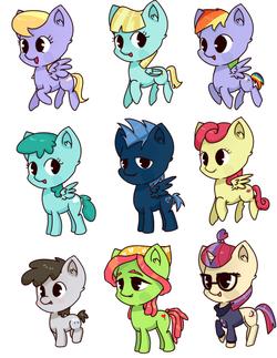pony set 12