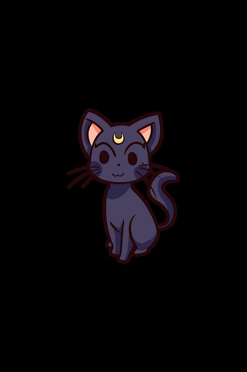 Dark Cat of the Moon