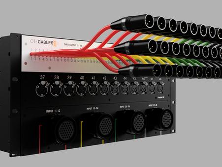 New line of modular audio signal splitters