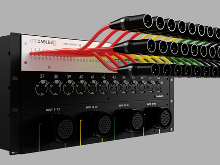 New line of modular audio signal splitters