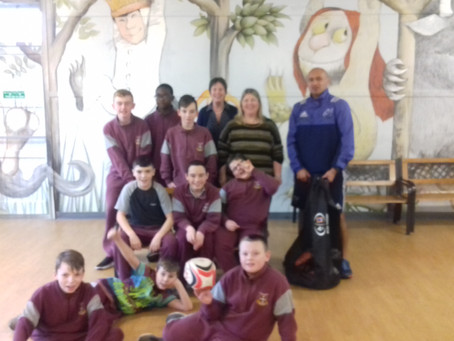 St Marks Team up with Munster Rugby