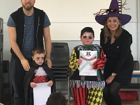 Our Spook-tacular October Assembly