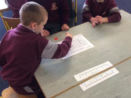 Maths Week fun in Senior Infants