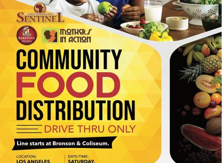 FOOD COMMUNITY DISTRIBUTION DRIVE THRU ONLY