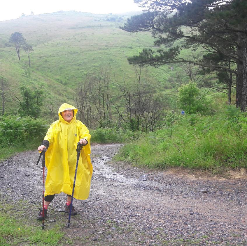 Lluvia en el Igueldo