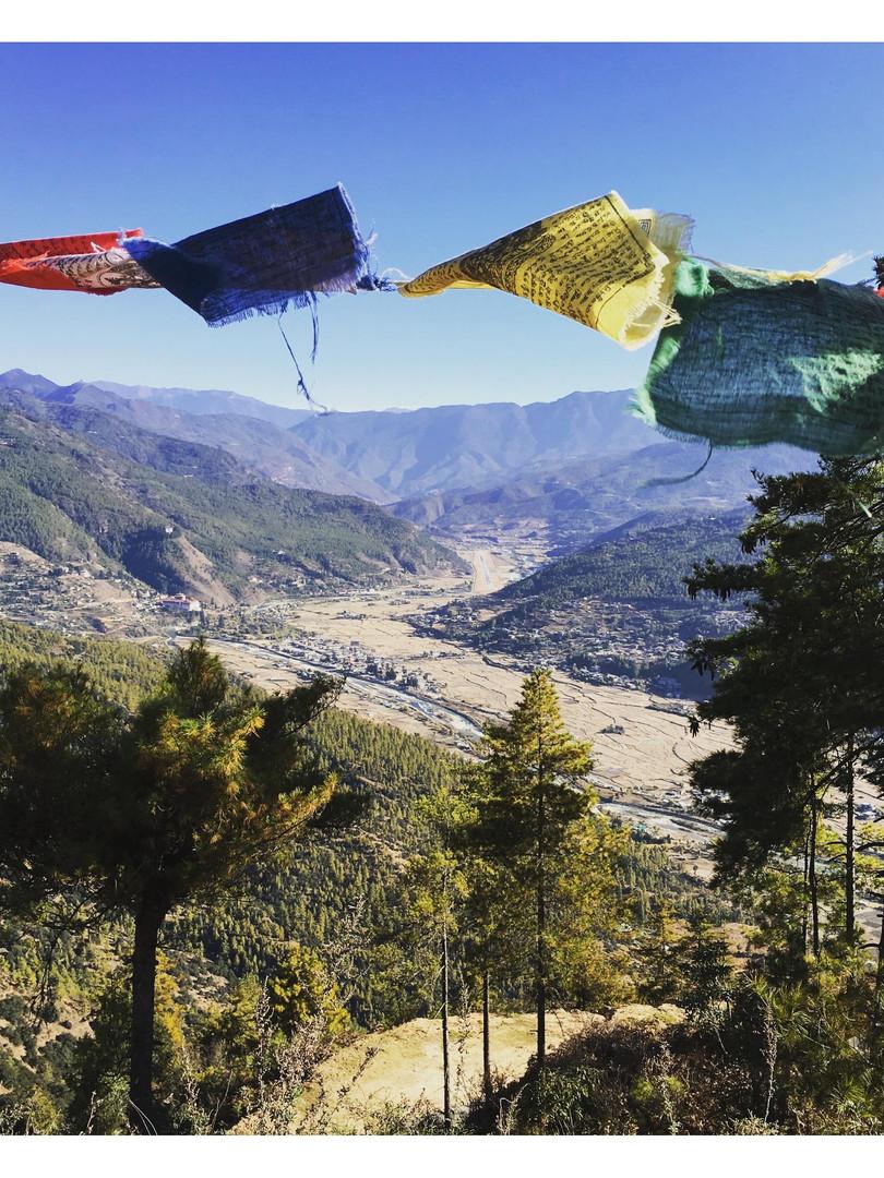 Above Paro Valley