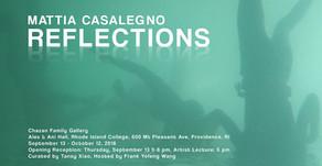 Curatorial: Reflection - Mattia Casalegno