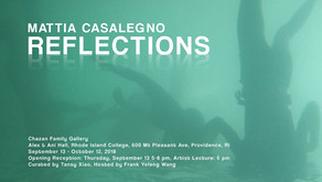 Curatorial: Reflection - Mattia Casalegno