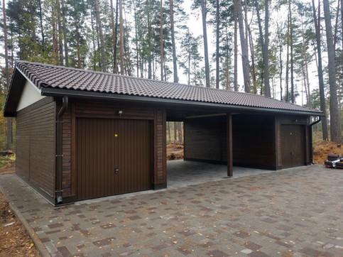Četru soļu saimniecības ēka