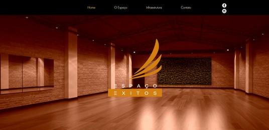 Website Espaço Exitos