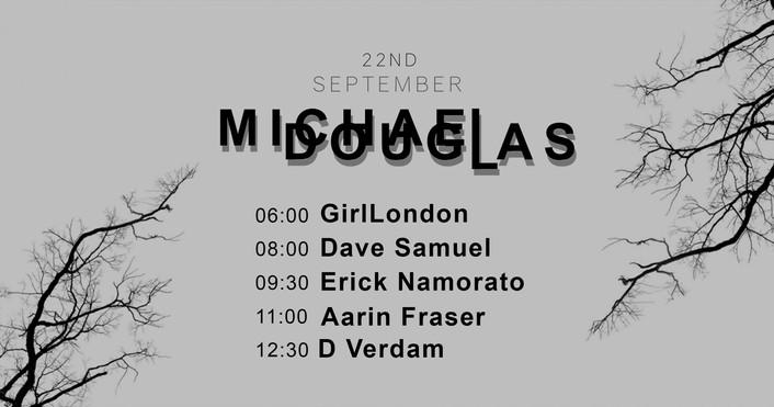 Michael Douglas Party