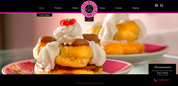 Website www.bombasdechocolate.com.br