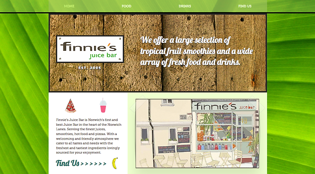 Finnie's Juice Bar Norwich