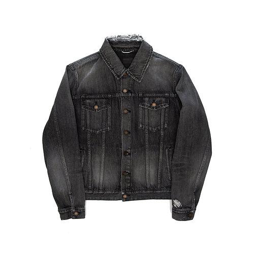 Saint Laurent - Distressed Denim Jacket